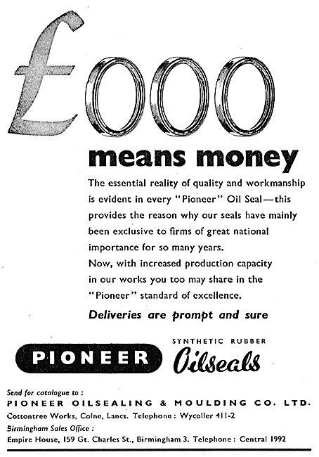 Pioneer Oilseals & Mouldings