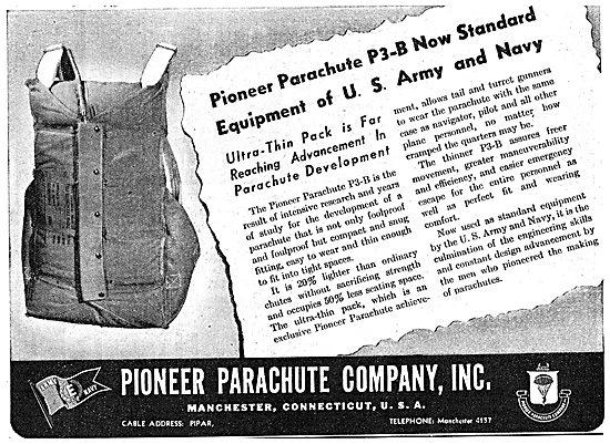 Pioneer Parachutes WW2
