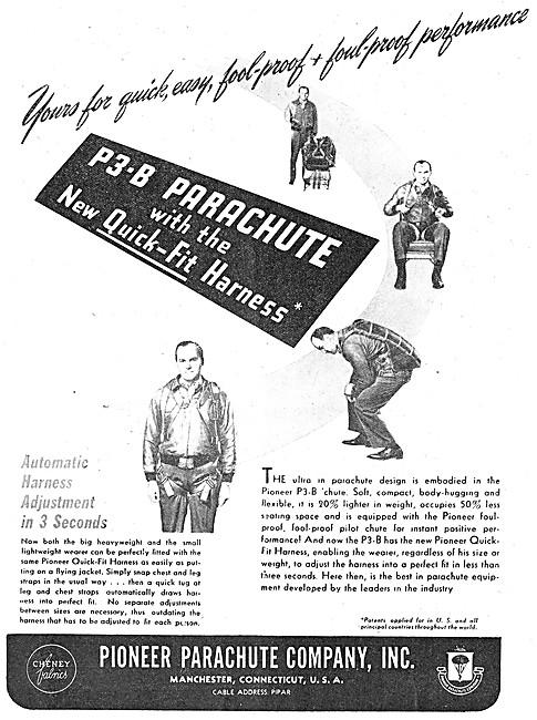 Pioneer P3-B Parachute