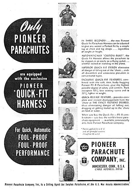 Pioneer Parachutes 1947