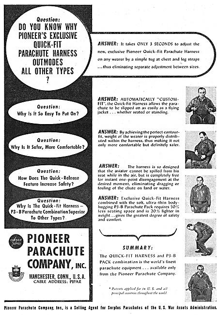 Pioneer Parachutes