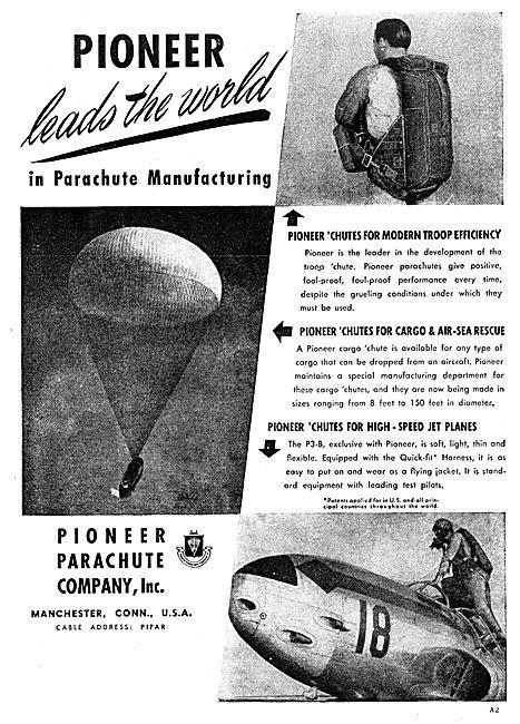 Pioneer Parachutes 1949