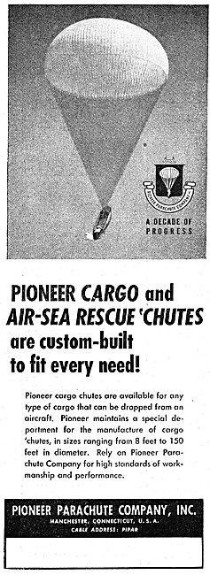 Pioneer Cargo Drop Parachutes 1949