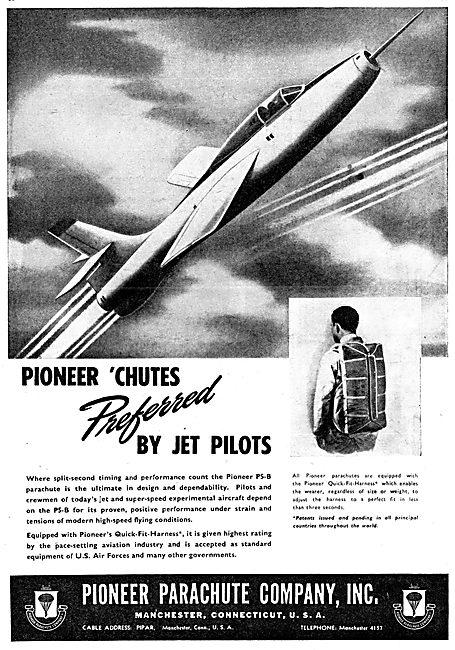 Pioneer Parachutes 1950