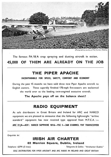 Piper PA18 Cub - Irish Air Charter