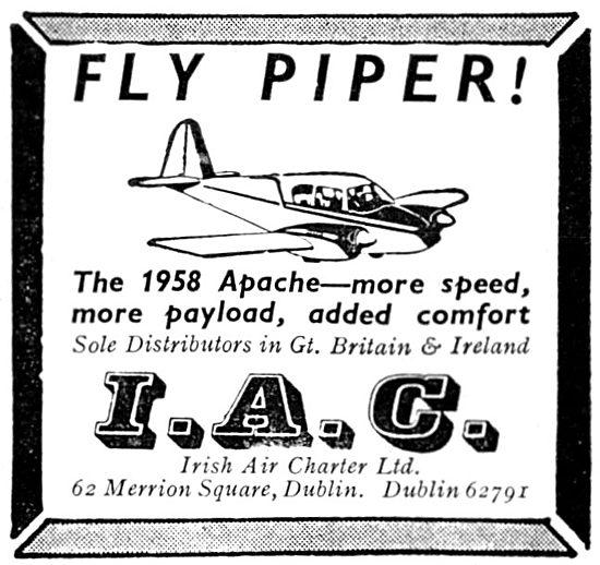 Piper Apache - Irish Air Charter 1958