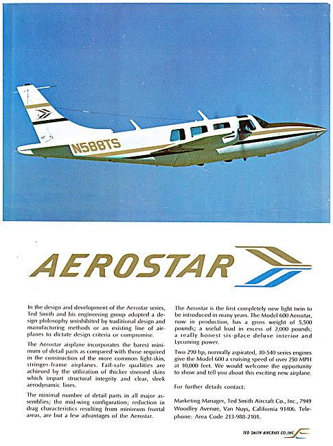 Ted Smith Aerostar