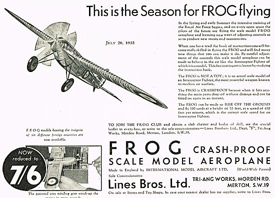 The Season For FROG Flying