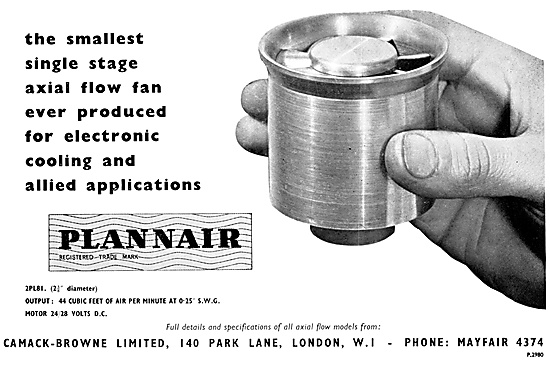 Plannair Axial Flow Fans
