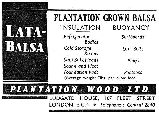Plantation Wood Ltd - Balsa Wood