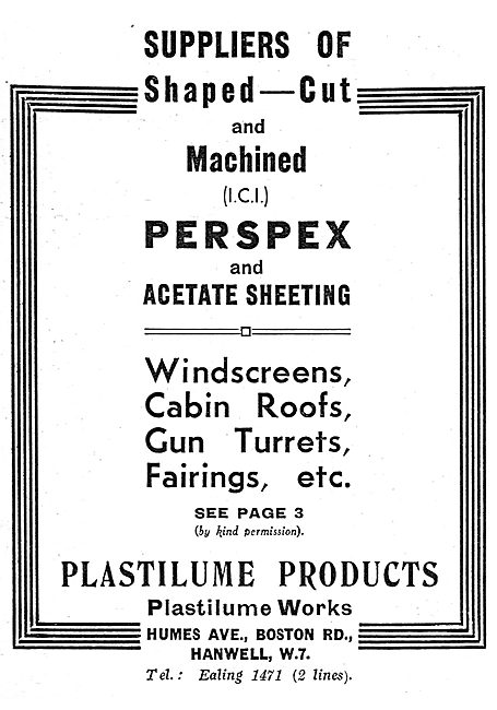 Plastilume Perspex & Acetate Sheeting