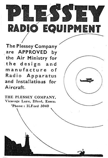 Plessey Radio Equipment For Aircraft