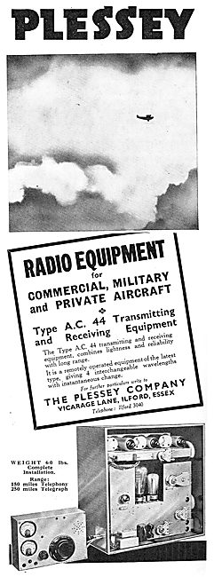 The Plessey AC44 T/R Radio Equipment For Aircraft