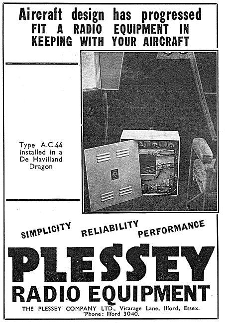 Plessey Radio Equipment For Aircraft: AC44