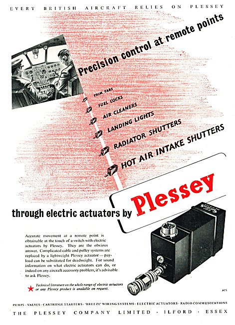 Plessey Aircraft Components & Systems