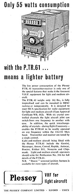 Plessey PTR 61
