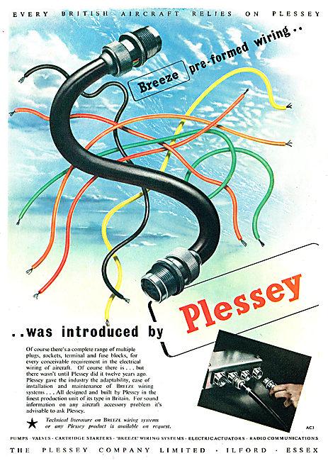 Plessey Aircraft Wiring