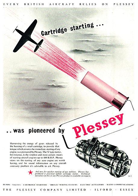 Plessey Aircraft Engine Cartridge Starters