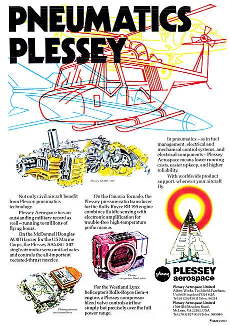 Plessey Aerospace Pneumatic Components.