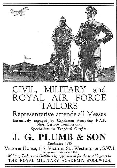 J.G.Plumb: Civil, Military & RAF Tailors