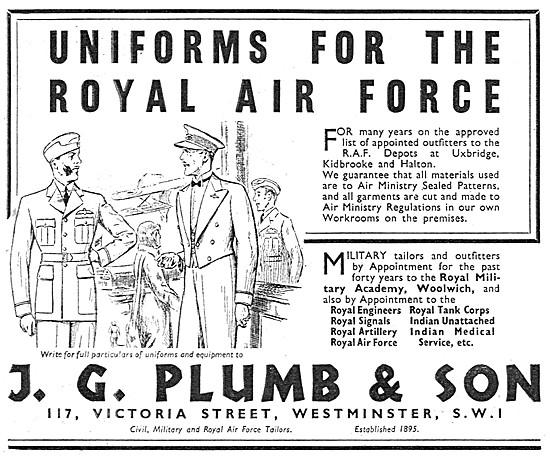 J.G.Plumb RAF Uniforms