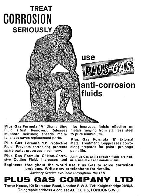 Plus Gas Anti-Corrosion Fluids