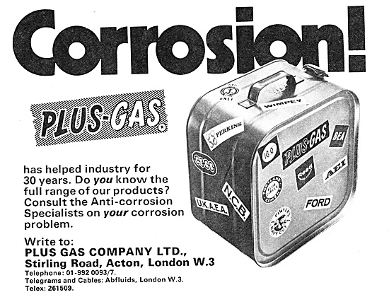 Plus Gas Anti-Corrosion Treatments