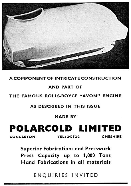 Polarcold. Congleton. Fabrications & Presswork