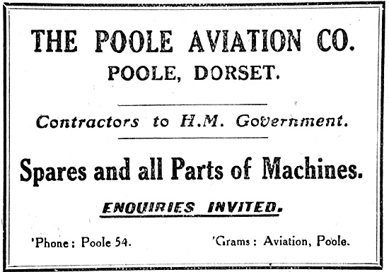 The Poole Aviation Co Aircraft Parts & Spares