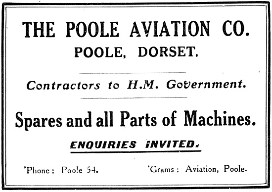 The Poole Aviation Co - Spares & All Parts For  Aircraft