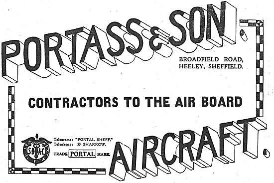 Portass & Son Aircraft