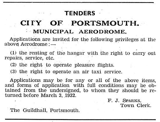 Portsmouth Municipal Aerodrome