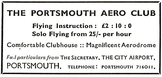 The Portsmouth Aero Club - Portsmouth Airport