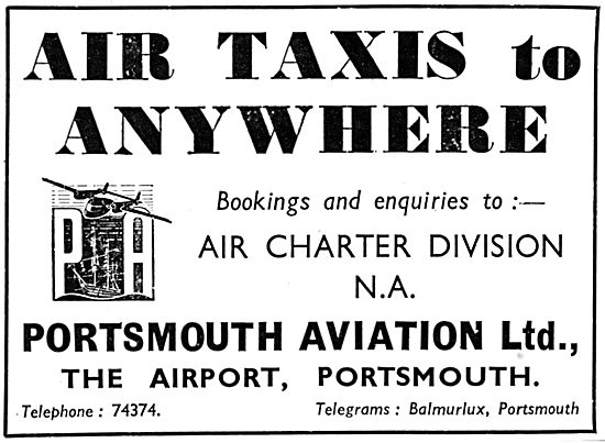 Portsmouth Aviation Air Taxi Service