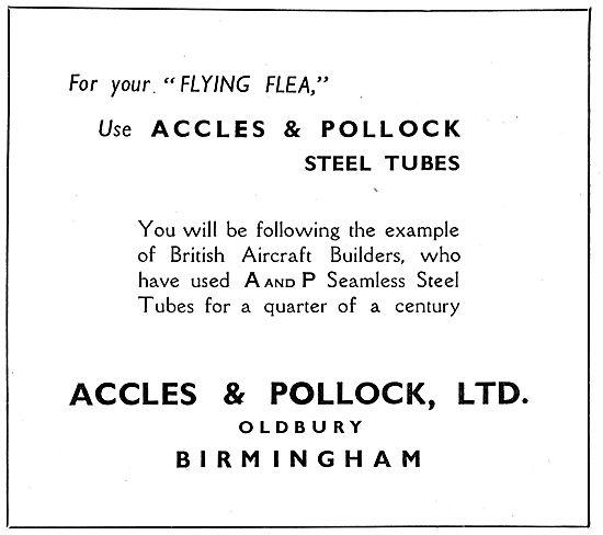Flying Flea - Pou De Ciel: Accles & Pollock