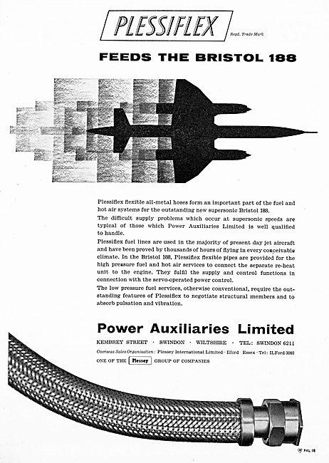 Power Auxiliaries PLESSIFLEX Fireproof Flexible Hoses