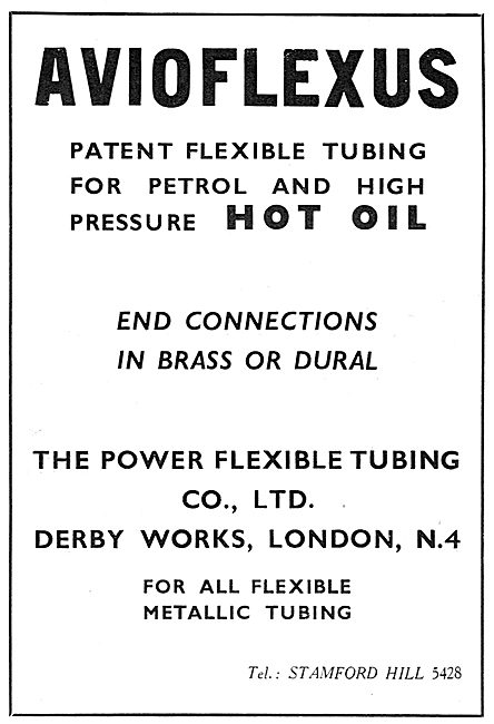 Power Flexible Tubing - Avioflexus