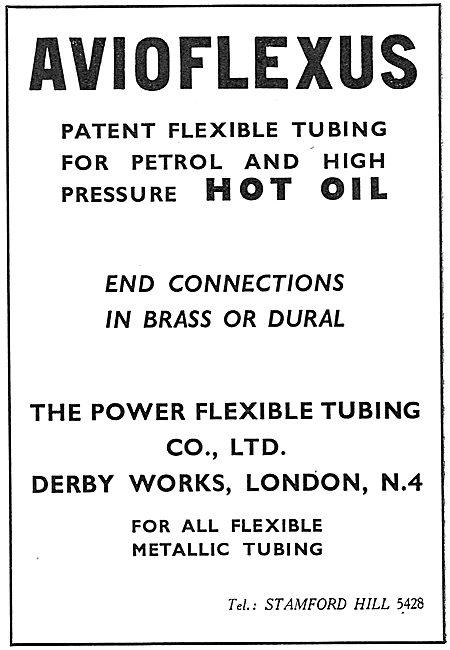 Power Flexible Tubing - Avioflexus Tubing
