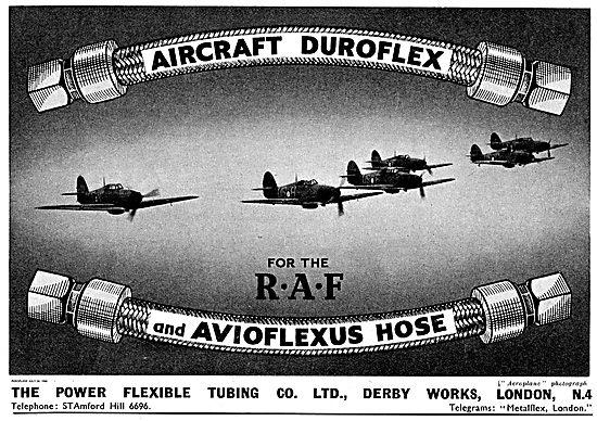 Power Flexible Tubing Co.  Avioflexus Hose