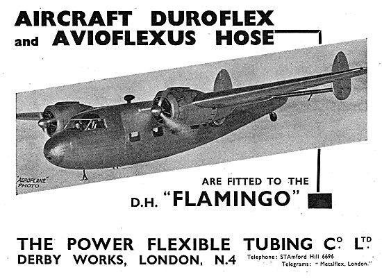 Power Flexible Tubing - Duroflex & Avioflexus Hose