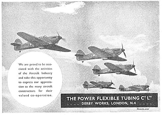 Power Flexible Tubing - Avioflexus Aircraft Hoses