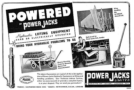 Power Jacks Handling Equipment