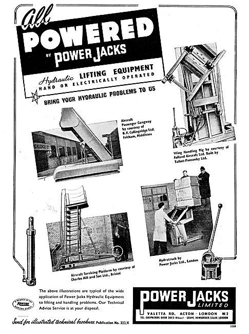 Power Jacks Hydratruck & Aircraft Servicing Platforms