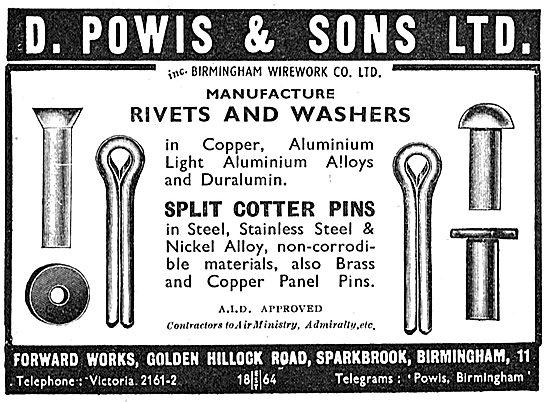 D.Powis & Sons. Sparkbrook. AGS Parts