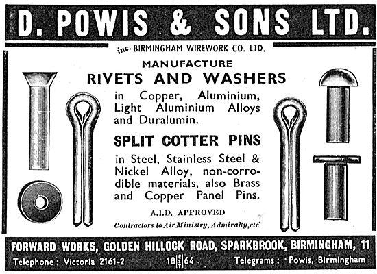 D.Powis AGS Parts 1939