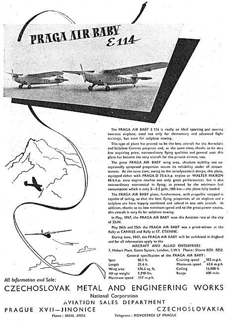 Praga Air Baby E114