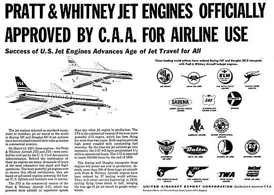 Pratt & Whitney JT4 Turbojet