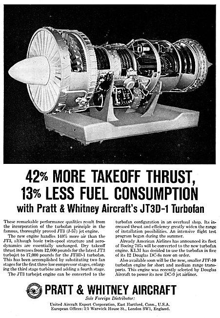 Pratt & Whitney JT3D-1