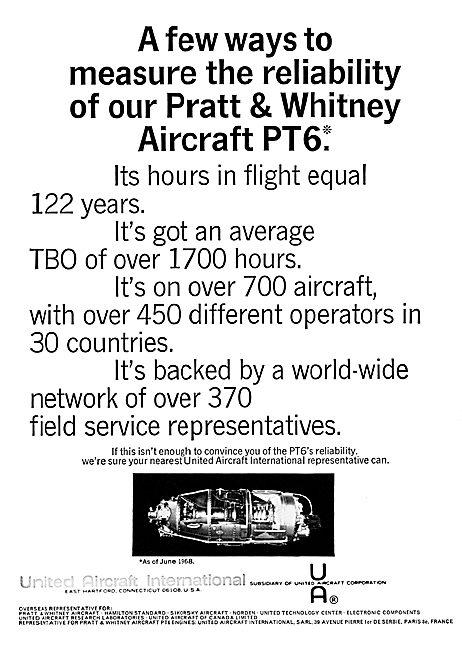 Pratt & Whitney PT6  - United Aircraft International