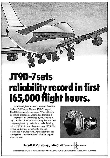 Pratt & Whitney JT9D-7